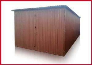 3x5 garázs, hátra lejtő tetővel, másodosztályú
