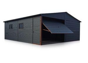 Dupla garázs 6x7m