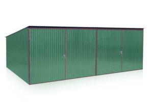Mobilgarázs 6x5m, hátra lejtő tető, választható szín a színskálából